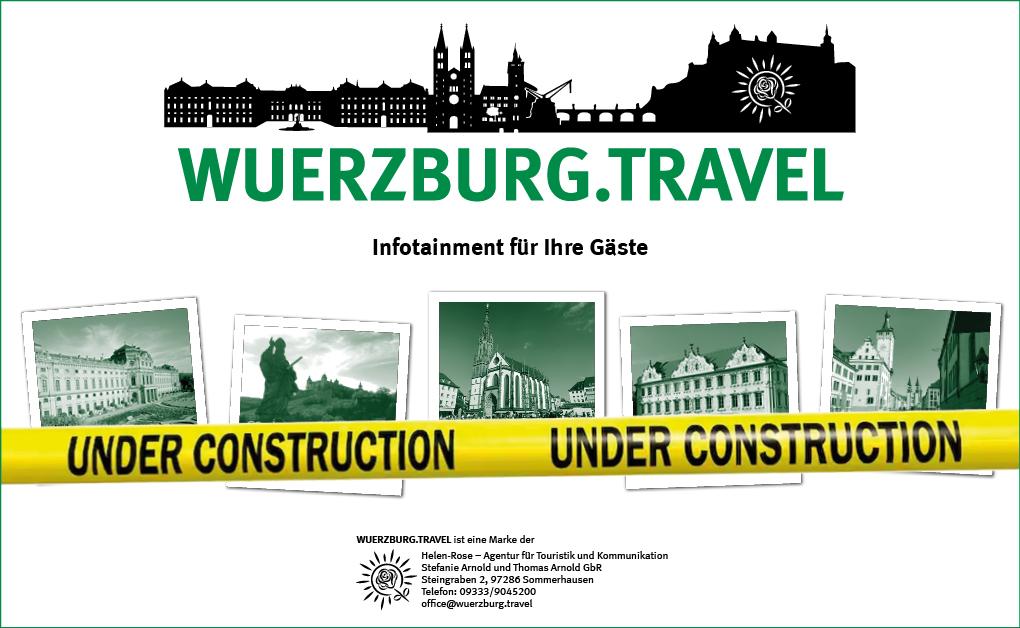 Wartungsarbeiten an wuerzburg.travel